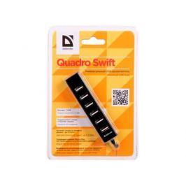 Универсальный USB разветвитель Quadro Swift USB2.0, 7 портов DEFENDER