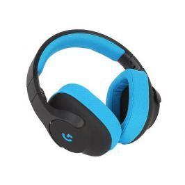 (981-000703) Гарнитура Logitech Gaming Headset G233 Prodigy Black/Cyan