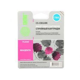 Картридж Cactus CS-CB324N №178XLN для HP PhotoSmart B8553/C5383/C6383 пурпурный 14.6мл