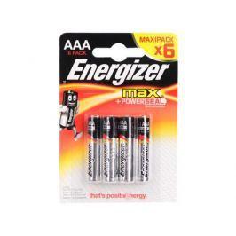 Батарейки Energizer Max AAA 6шт. в блистере (E300131703/E300131702)