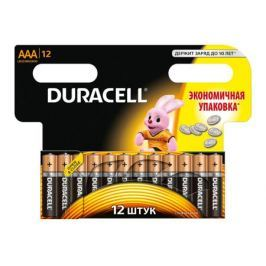 Батарейки DURACELL LR03 MN2400 -12BL BASIC (AAA) блистер 12шт.