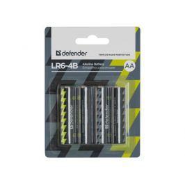 Батарейки Defender LR6-4B 4PCS 4 шт 56012