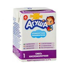 Кисломолочная готовая смесь Агуша 1 3,5% с рождения 204 мл