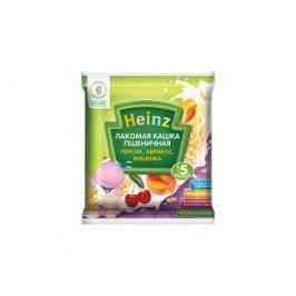 Каша молочная Heinz «Лакомая» пшеничная персик, абрикос, вишенка с 5 мес. 30 г (сашет)