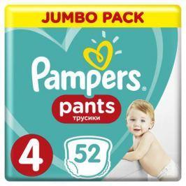 Трусики-подгузники Pampers Pants 4 (9-15 кг) 52 шт.