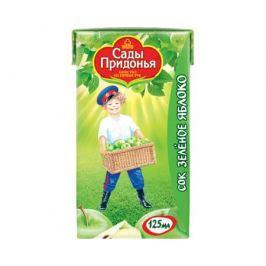 Сок Сады Придонья Зеленое яблоко с 4 мес. 125 мл