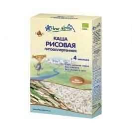 Каша безмолочная Fleur Alpine Organic рисовая гипоаллергенная с 4 мес. 175 г