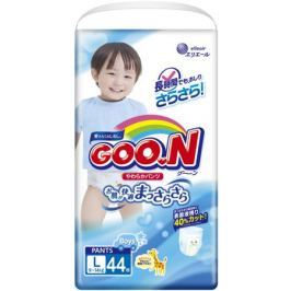Трусики-подгузники Goo.N для мальчиков L (9-14 кг) 44 шт.
