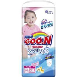 Трусики-подгузники Goo.N для девочек XL (12-20 кг) 38 шт.