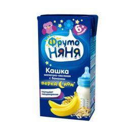 Каша готовая молочная ФрутоНяня «Перед сном» овсяная с бананом с 6 мес. 200 мл