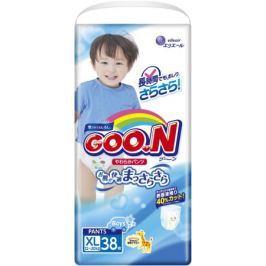 Трусики-подгузники Goo.N для мальчиков XL (12-20 кг) 38 шт.