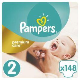 Подгузники Pampers Premium Care 2 (3-6 кг) 148 шт.