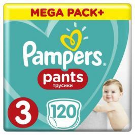 Трусики-подгузники Pampers Pants 3 (6-11 кг) 120 шт.