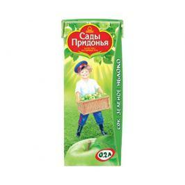 Сок Сады Придонья Зеленое яблоко с 4 мес. 200 мл