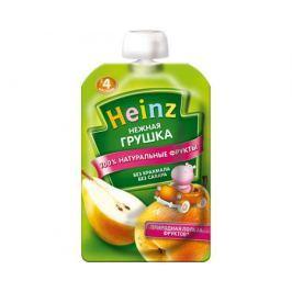 Пюре Heinz Нежная грушка с 4 мес. 100 г (пауч)