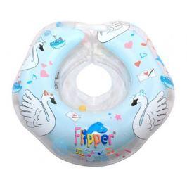 Круг для купания на шею Roxy-kids Flipper «Лебединое озеро» музыкальный в ассортименте