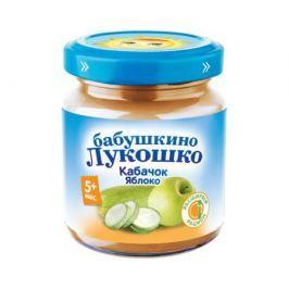 Пюре Бабушкино Лукошко Кабачок-яблоко с 5 мес. 100 г