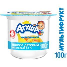 Творог Агуша Мультифрукт 3,9% с 6 мес. 100 г
