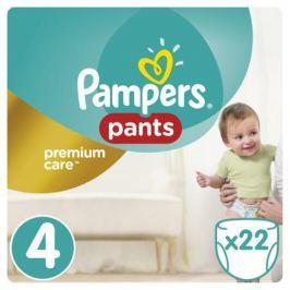 Трусики-подгузники Pampers Premium Care 4 (8-14 кг) 22 шт.
