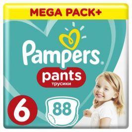 Трусики-подгузники Pampers Pants 6 (15+ кг) 88 шт.
