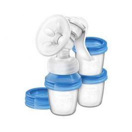 Молокоотсос ручной Philips AVENT «Natural» SCF330/13 с контейнерами