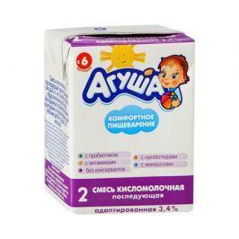 Кисломолочная готовая смесь Агуша 2 3,4% с 6 мес. 204 мл
