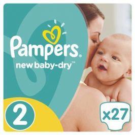 Подгузники Pampers New Baby-Dry 2 (3-6 кг) 27 шт.