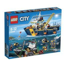 Конструктор LEGO City 60095 Корабль исследователей морских глубин