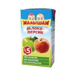 Нектар ФрутоНяня Малышам Яблоко и персик с 5 мес. 125 мл