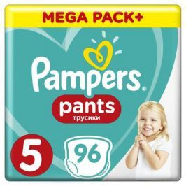 Трусики-подгузники Pampers Pants 5 (12-17 кг) 96 шт.