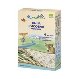 Каша молочная Fleur Alpine Organic рисовая с 4 мес. 200 г