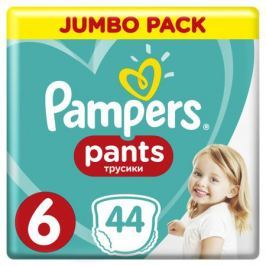 Трусики-подгузники Pampers Pants 6 (15+ кг) 44 шт.