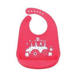 Нагрудник Happy Baby «Bib pocket» силиконовый в ассортименте
