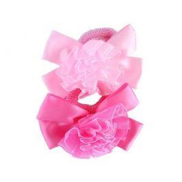Резинка для волос Принчипесса белый/розовый