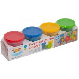 Набор для творчества Genio kids «Тесто-пластилин» 4 цветов