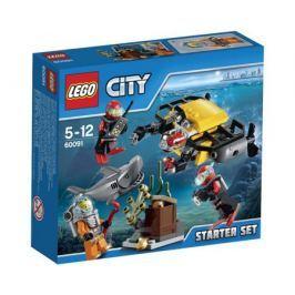 Конструктор LEGO City 60091 Набор для начинающих: Исследование морских глубин
