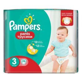 Трусики-подгузники Pampers Pants 3 (6-11 кг) 26 шт.
