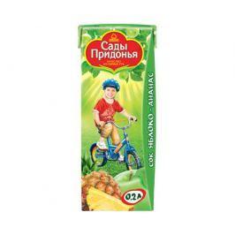 Сок Сады Придонья Яблоко и ананас с 6 мес. 200 мл
