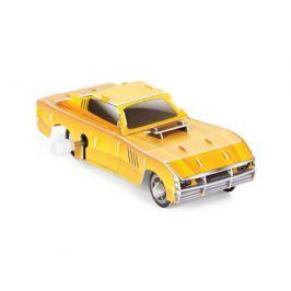 Заводной 3D-пазл UF «Желтый гонщик»