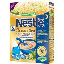 Каша безмолочная Nestle «Помогайка» Счастливых снов 5 злаков с липовым цветом с 6 мес. 200 г