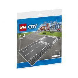 Конструктор LEGO City 7280 Прямая дорога и перекрёсток