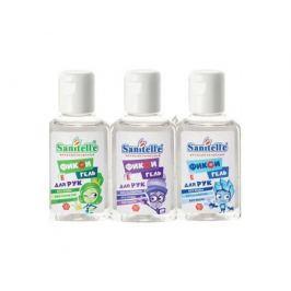 Гель для рук Sanitelle «Фикси-гель Bubble gum» с витамином Е 50 мл