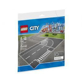 Конструктор LEGO City 7281 Т-образный перекрёсток и поворот