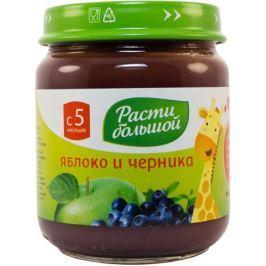 Пюре Расти большой Яблоко и черника с 5 мес. 100 г
