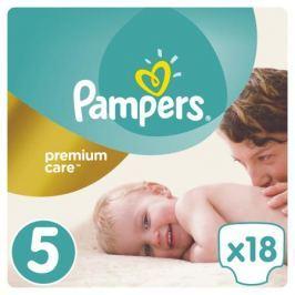 Подгузники Pampers Premium Care 5 (11-18 кг) 18 шт.