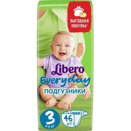 Подгузники Libero Everyday 3 (4-9 кг) 46 шт.