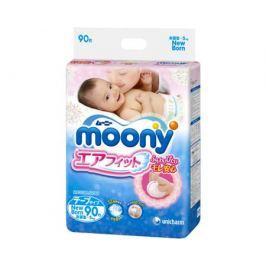 Подгузники Moony 0-5 кг 90 шт
