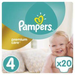 Подгузники Pampers Premium Care 4 (8-14 кг) 20 шт.