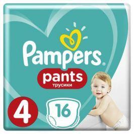 Трусики-подгузники Pampers Pants 4 (9-15 кг) 16 шт.