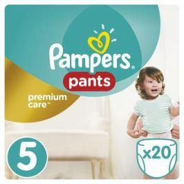 Трусики-подгузники Pampers Premium Care 5 (11-18 кг) 20 шт.